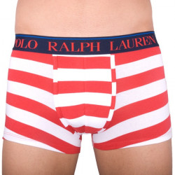 Pánské Boxerky Polo Ralph Lauren White / Red Stripes