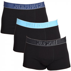 3Pack Diesel Boxerky Shawn Boxers Smile Black