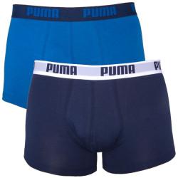 2PACK Pánské Boxerky Puma True Blue Short