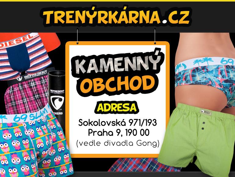 Kamenná prodejna Trenýrkárna.cz