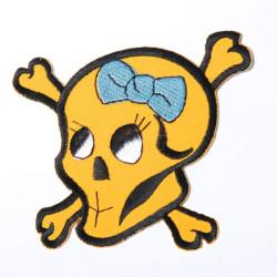 Nažehlovačka Žlutá Lebka
