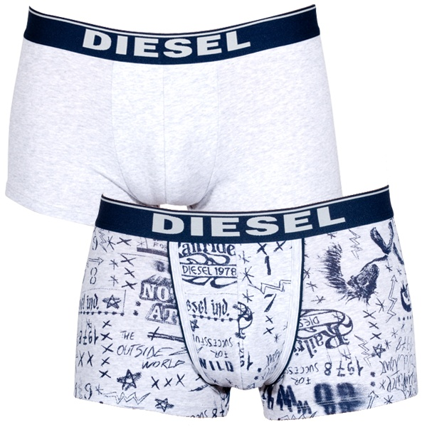 2Pack Diesel Boxerky Shawn Boxers Grey