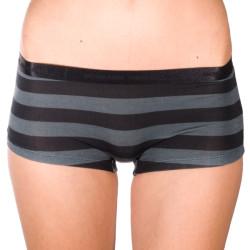 Dámské Kalhotky Mosmann Australia Boyshorts Grey/Black Stripe