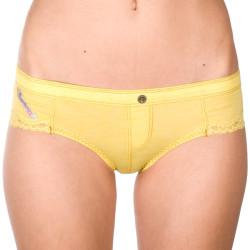 Dámské kalhotky Diesel žluté (00CP9T-00FVF-22E)