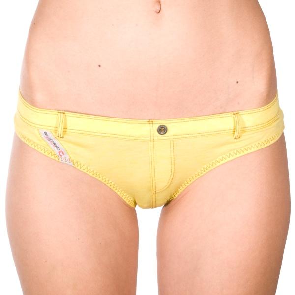 Dámské Kalhotky Diesel Bonita Mutande Yellow