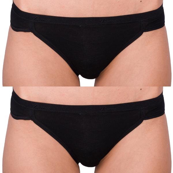 2Pack Dámské Kalhotky Puma Bikini Black