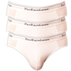 3PACK Pánské Slipy Polo Ralph Lauren White