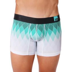 Pánské Boxerky Mosmann Australia Boxer M-Series Acqua Turquoise Print