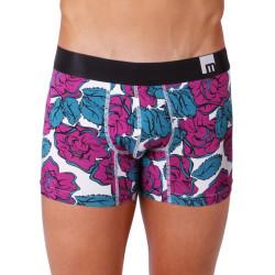 Pánské Boxerky Mosmann Australia Boxer M-Series Amalfi Magenta Floral Print
