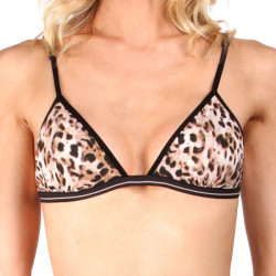 Dámská Podprsenka Mosmann Australia Ana Soft Cup Bra Leopard Tan