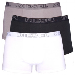 3Pack Diesel Boxerky Shawn Boxers Grey Black White