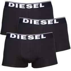 3PACK boxerky Diesel černé (00CKY3-0NTGA-900)