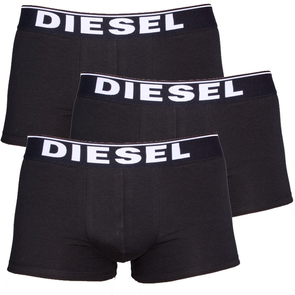 3PACK Boxerky Diesel The Essential Black