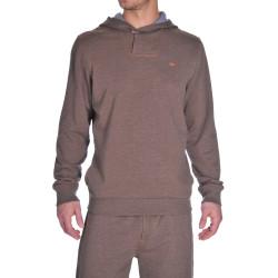 Pánská mikina Diesel hnědá (00CEMD-0KAGX 77N)