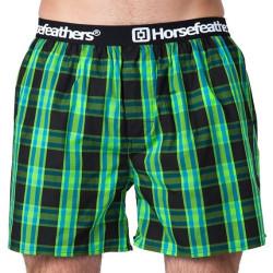 Pánské Trenky Horsefeathers Apollo Boxer Shorts Black