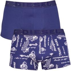2Pack Diesel Boxerky Shawn Boxers Blue Printed