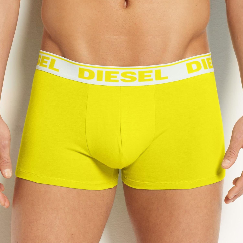 Pánské Boxerky Diesel Shawn Fresh & Bright Yellow