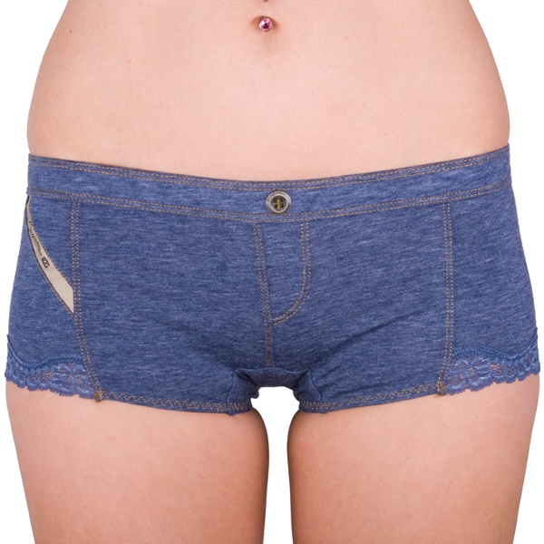 Dámské Kalhotky Diesel Vips Mutande Blue