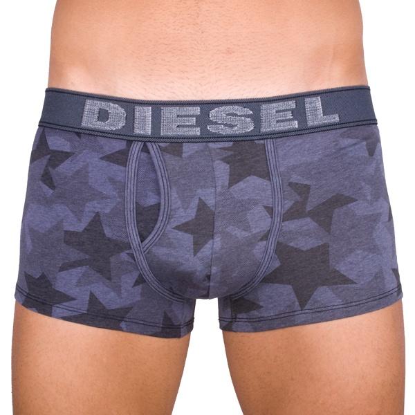 Pánské Boxerky Diesel Divine Dark Blue Denim Stars
