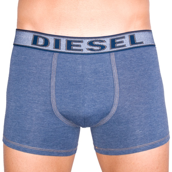 Pánské Boxerky Diesel UMBX Sebastian Blue Denim