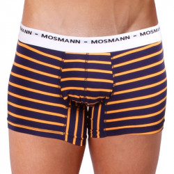 Pánské Boxerky Mosmann Australia Boxer Eco Summer Sunset Blue/Orange Stripe