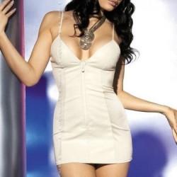 Obsessive Minišaty Ivory Dress