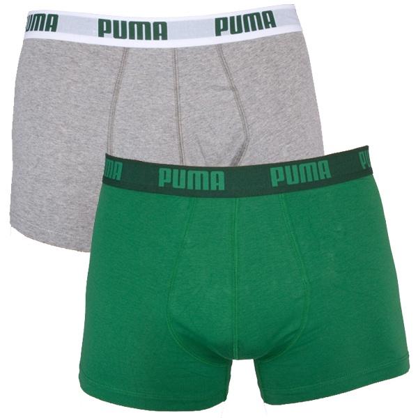 2PACK Pánské Boxerky Puma Amazon Green Short