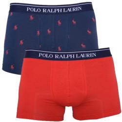 2PACK Pánské Boxerky Polo Ralph Lauren Blue Red
