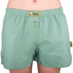 Dámské trenýrky TRENZLE bavlněné TOKYO03 zeleno//zelená kostička