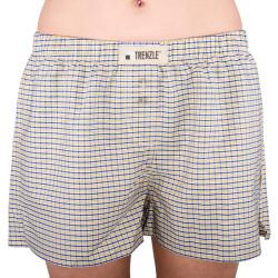 Dámské trenýrky TRENZLE bavlněné TOKYO26 žluto / modrá kostička