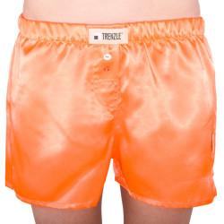 Dámské trenýrky TRENZLE saténové fluorescentní oranžové