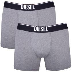 2PACK Pánské Boxerky Diesel Double Grey
