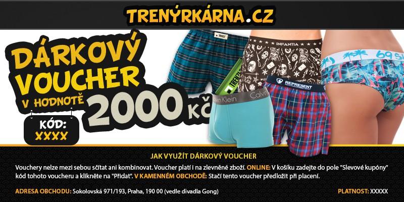 Dárkový Voucher 2000 uni