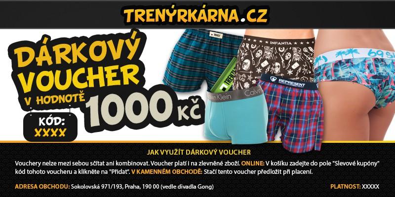 Dárkový Voucher 1000 uni