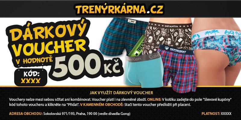 Dárkový Voucher 500 uni