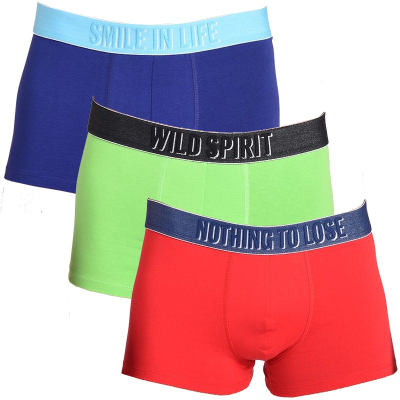 3Pack Diesel Boxerky Shawn Boxers Smile Colour XL