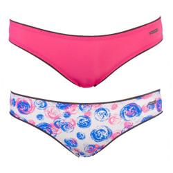 2PACK Dámské Kalhotky Diesel Bonitas Mutande Pink Only The Brave Stamp