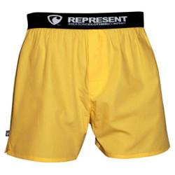 Pánské Trenýrky Represent Mikebox Yellow
