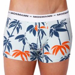 Pánské Boxerky Mosmann Australia Boxer Eco Print Blue Orange
