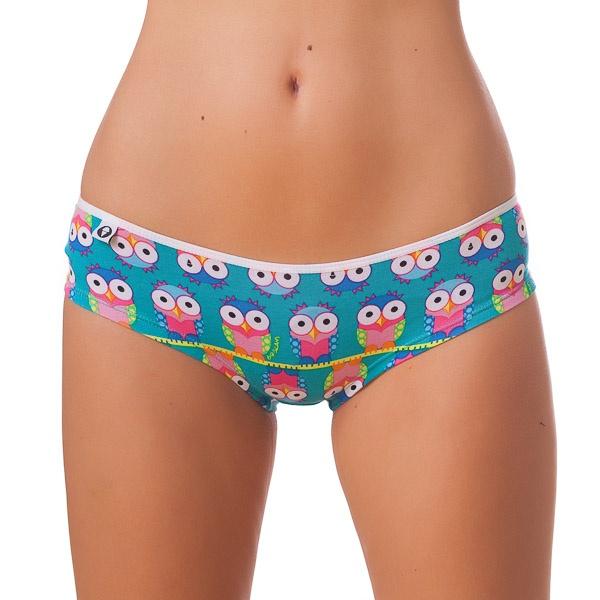 Dámské Kalhotky 69SLAM Mini Short Bamboo Owl