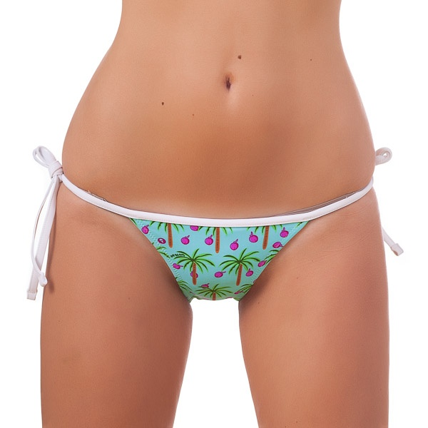 Dámské Plavky 69SLAM Kalhotky Triangle Coconut M