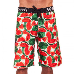 Pánské Plavky 69SLAM Dlouhé Boardshort Watermelon