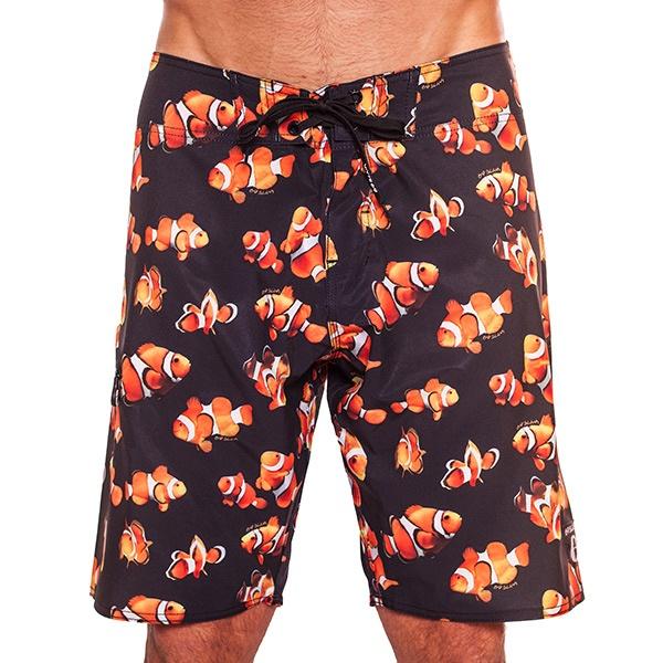 Pánské Plavky 69SLAM Krátké Boardshort Strech Clown Fish