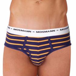 Pánské Slipy Mosmann Australia Brief Eco Summer Sunset Blue Orange Stripe