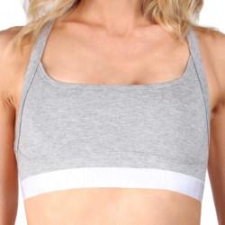 Dámská Sportovní Podprsenka Mosmann Australia Isla Crop Top Comfy Grey