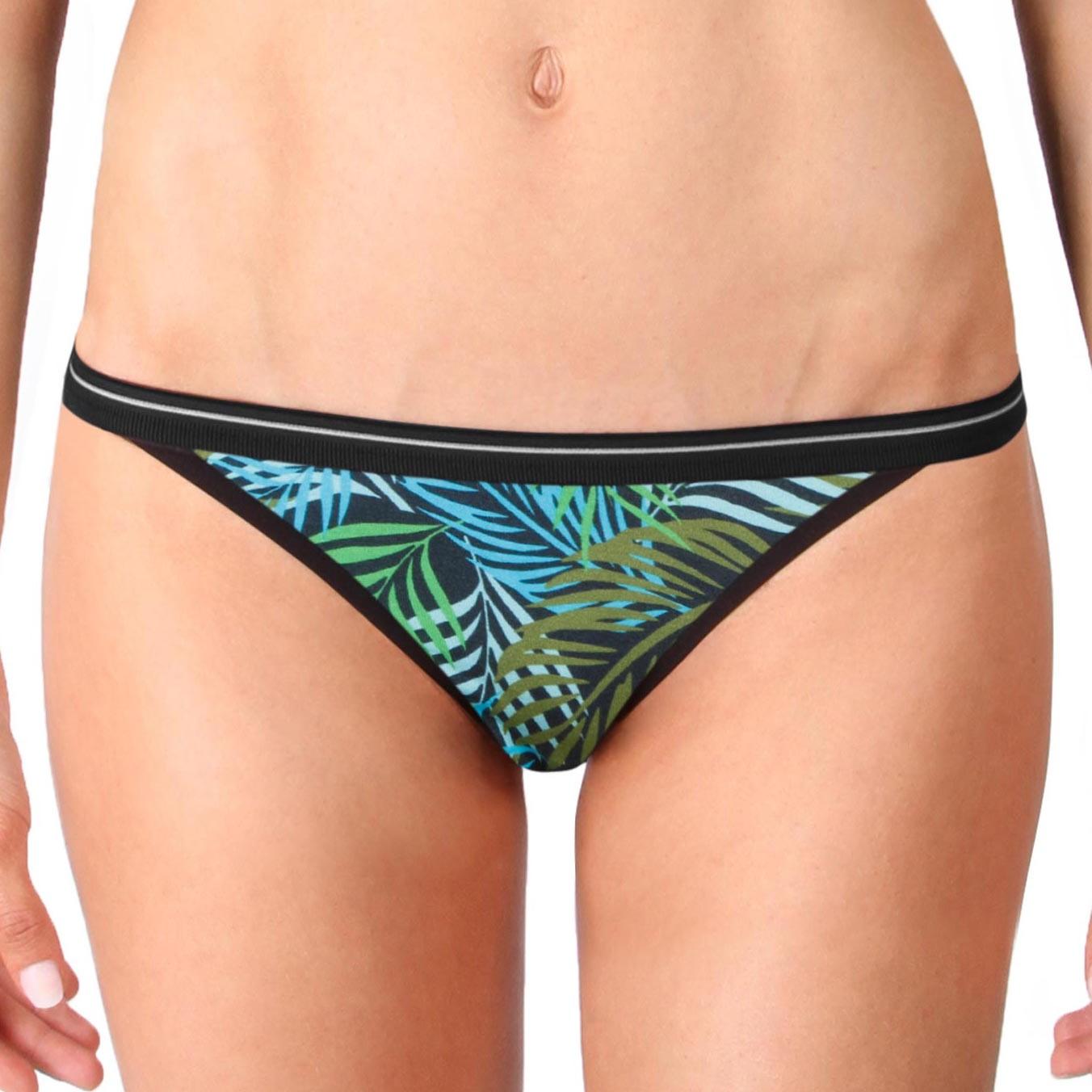 Dámské Kalhotky Mosmann Australia Chelsea String Bikini Palmspring Green S