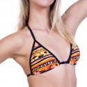 Dámské Plavky 69SLAM Horní Díl Triangle Savana Orange