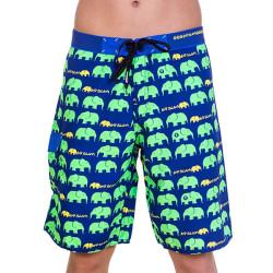 Pánské Plavky 69SLAM Dlouhé Boardshort Elephant Green