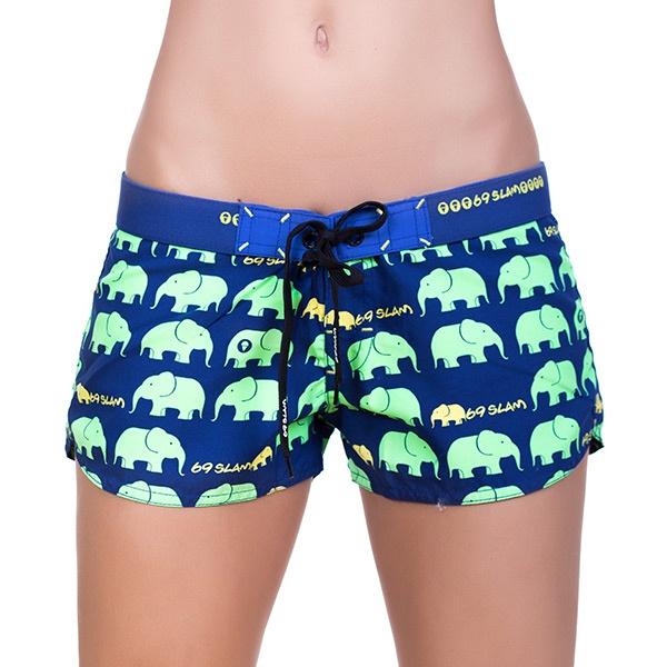 Dámské Plavky 69SLAM Šortky Elephant Green