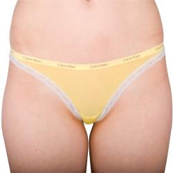 Dámská Tanga Calvin Klein Yellow